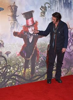 Johnny Depp Alice Through the Looking Glass - Funny celeb pics for May 2016