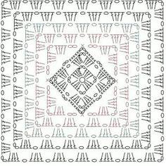 """RT crochet on Instagram: """"#grannysquares #grannysquaresrock #grannysquare #crochetsquare #crochetersoftheworld #crochetersofinstagram #crocheting #craftsposure…"""" Motifs Granny Square, Granny Square Crochet Pattern, Crochet Diagram, Crochet Chart, Crochet Squares, Crochet Granny, Granny Squares, Crochet Motif Patterns, Crochet Blocks"""