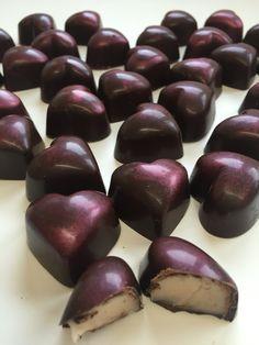 Cocoa meraki Dark chocolate strawberry ganache heart