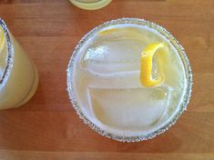 YES!  Recipe: Meyer Lemon Margaritas