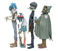 Gorillaz: The Online Video Game | News | Pitchfork