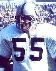 Dan Conners Oakland Raiders 1964-74.