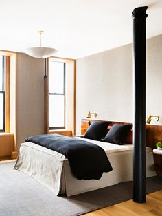Masculine bedroom design by Gachot   Photo by Brittany Ambridge