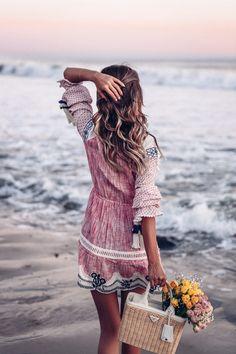 Wedreammore Plus Size Summer Short Dress Boho Beach Hippie Plaid A-Line Dress Swing Long Sleeve Casual Dress – wedreammore Bohemian Style Dresses, Boho Dress, Boho Beach Style, Casual Dresses, Fashion Dresses, Boho Fashion, Fashion Beauty, Short Summer Dresses, Blue Merle