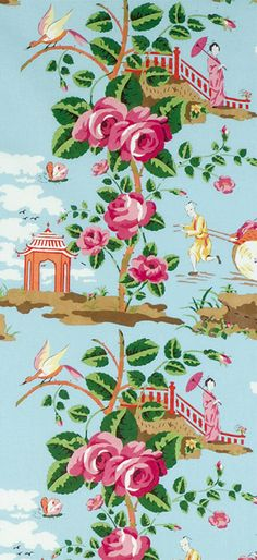 LOVE THIS!!!! China Rose-Scalamandre