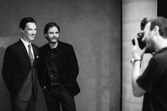 Daniel Bruhl and Benedict Cumberbatch...love this photo - had to put on this Board to make sure I can always find it fast - i love it so much. (it can get lost on my Daniel board with 1000+pins - haha!)