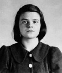 """How can we expect righteousness to prevail when there is hardly anyone willing to give himself up individually to a righteous cause? Such a fine, sunny day, and I have to go, but what does my death matter, if through us thousands of people are awakened and stirred to action?"" -- Sophie Scholl's last words prior to execution for her part in the White Rose resistence to the Nazis in Germany."