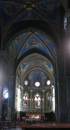 Santa Maria sopra Minerva, Rome.province of Rome Lazio