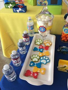 Photo (117) Paw Patrol candy bar or cake table by Denise Scraps