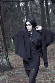 Model/Makeup/Styling/Editor: Mahafsoun Photographer: Roya D Dress: Killstar Jewellery: Moon Raven Designs Welcome to Gothic and Amazing |www.gothicandamazing.org