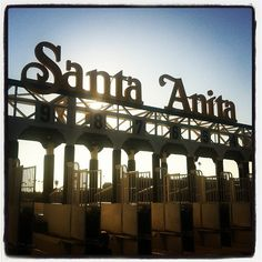 Tour Santa Anita Park in Arcadia, CA  TO DO:  - get a glimpse of daily stable life - visit Seabiscuit's original stall - peek inside the jockey's locker and colors room filled with more than 7000 jockey silks - pet a horse  Saturdays and Sundays during racing season 8:30am and 9:45am FREE ADMISSION!!