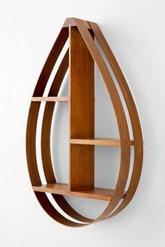 Bentwood Teardrop Shelf - Urban Outfitters