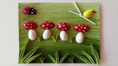 Reuse Pista Shelll Quilling For Beginners.Reuse Pista Shelll Quilling For Beginners.Tutorials Pin: 235 x 132 Easy Diy Crafts, Fun Crafts, Paper Crafts, Art N Craft, Eco Craft, Pista Shell Crafts, Shotgun Shell Crafts, Coconut Shell Crafts, Pistachio Shells