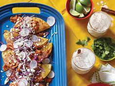 Vegetarian Potato Tacos Recipe from SAVEUR. A whole new twist on tacos.