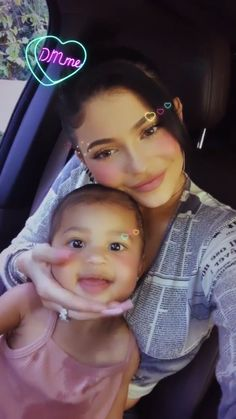 Stormi and Kylie