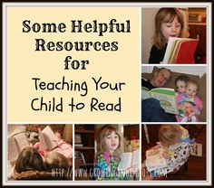 Resources for teaching your child to read