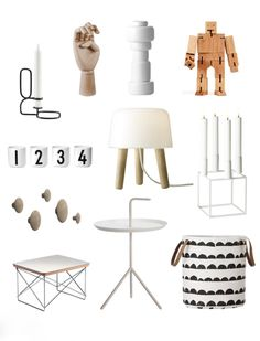 Via Flor | Hay | Design Letters | AndTradition | Areaware | Ferm Living | By Lassen | Muuto | Eames