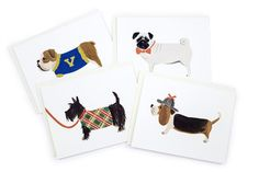 Boy Dog Card Set