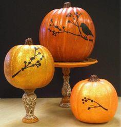DIY Pumpkins Crafts : DIY Pumpkins DIY Fall Crafts DIY Halloween Decor