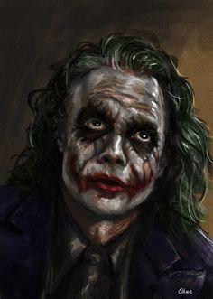 Joker by *bloodyBarbarian on deviantART