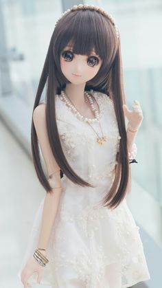 Image discovered by 𝐆𝐄𝐘𝐀 𝐒𝐇𝐕𝐄𝐂𝐎𝐕𝐀 👣. Find images and videos about girl, fashion and cute on We Heart It - the app to get lost in what you love. Beautiful Barbie Dolls, Pretty Dolls, Anime Dolls, Bjd Dolls, Cute Girl Hd Wallpaper, Wallpaper Wallpapers, Cute Kids Pics, Mikuo, Cute Baby Dolls