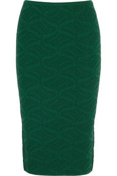 M Missoni Jacquard-knit pencil skirt | NET-A-PORTER
