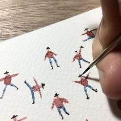 La micro-ilustración del gran-ilustrador Matías Prado