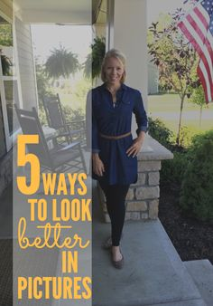 5 Ways to Look Better in Pictures-- These helpful tips can help you look your best the next time you need to pose for a picture! Outdoor Pictures, Poses For Pictures, Picture Poses, Photo Poses, Family Picture Outfits, Family Photos, Family Posing, Family Portraits, Family Photography