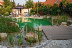 Gewässerplanung - Halbmeier Gartengestaltung, Gartenpflege und Schwimmteichbau für Bielefeld und Ostwestfalen