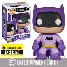 Batman 75th Purple Rainbow Batman Pop! Vinyl - EE Exclusive - Funko - Batman - Pop! Vinyl Figures at Entertainment Earth
