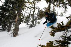 Skiing a variety of terrain, Pantheon Heli Skiing, Bella Coola Heli Sports. Saddle Ranch, Ski Canada, Skiing, Base, Snow, Sports, Outdoor, Ski, Hs Sports