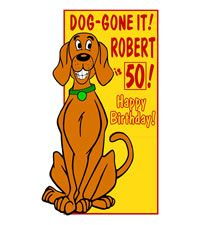 Click on Dog Lawn Card. http://www.hellopink.ca/lawncards.php#  Rent this birthday lawn sign for only $90.00. Toronto and surrounding areas only. #party #ideas