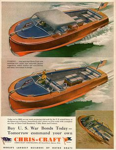 Chris Craft Advertisement More