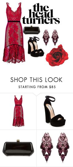 """""""Red"""" by anne-marie-jackson on Polyvore featuring Three Floor, Steve Madden, Rebecca Minkoff and Ellen Conde"""