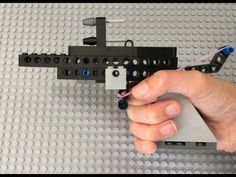 How To Make A Simple Lego Gun - YouTube