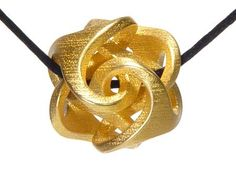 Ora Pendant by Bathsheba on Shapeways, the 3D printing marketplace