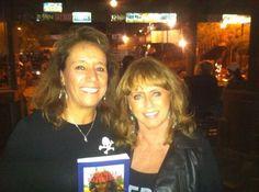 Anita Waggoner with fan Maria, Scottsdale Arizona book signing.