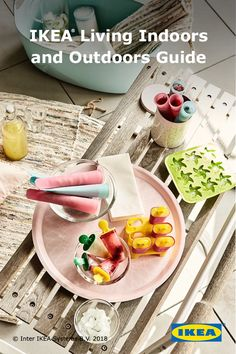 Move the party outside this spring and summer. Click for inspiration from the IKEA Living Indoors and Outdoors Guide.