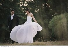 Daniel and Christy's Summer's Tale | Real weddings | The Pretty Blog