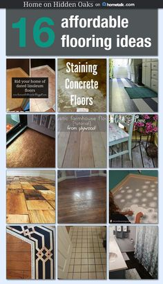 16 Affordable Flooring Ideas