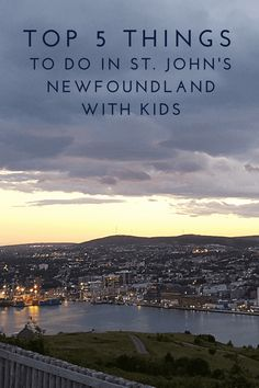 Top 5 Things to Do in St. John's, Newfoundland with Kids We're sharing the top 5 things to do in St. John's, Newfoundland with kids; a perfect destination for families with a unique history and warm hospitality. Travel With Kids, Family Travel, Family Trips, Stuff To Do, Things To Do, Canadian Travel, Canadian Rockies, Visit Canada, Canada 150