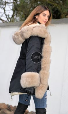 american parka with fur - military parka coat with hood 2016