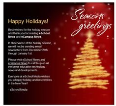 Meritech holiday greetings from cvcc our business partners eschoolmedia m4hsunfo