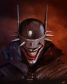 ArtStation - The Batman Who Laughs, Dope Pope Laughing Face, Laughing Emoji, Couple Laughing, Friends Laughing, Super Mario Sunshine, Batman Wallpaper, Hacker Wallpaper, Batman Kunst, Batman Art