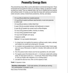 """homemade energy bar, good for a snack. from """"Nancy Clark's Sports Nutrition Guidebook"""""""