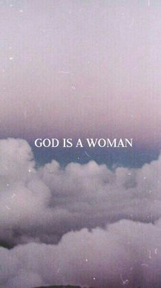 God is a woman Ariana grande Wallpaper background