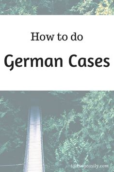 German Cases is very hard. Here is a way to make it easier. Study German, Learn German, Reflexive Verben, Languages Online, German Language Learning, English Lessons, Did You Know, Vocabulary, Cases
