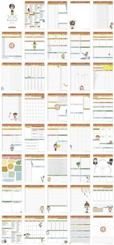 Life is Messy Planners and Life is Messy Bootcamp- a complete planning system for creative souls, who love the cutest illustrations.