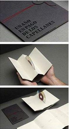 CD holder brochure design
