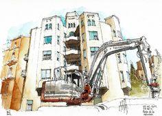 Urban Sketchers: architecture